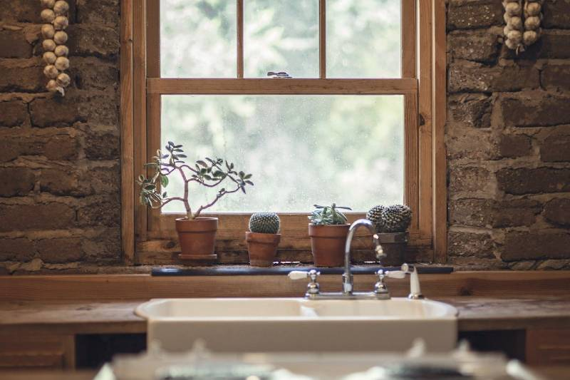 decoracion estilo farmhouse casa paredes cocina interiores