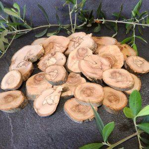 comprar rodajas de madera de olivo